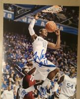 JOHN WALL SIGNED 8X10 PHOTO KENTUCKY WIZARDS W/COA+PROOF RARE WOW