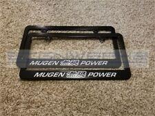 Honda Mugen Power License Plate Frame JDM Japan Vtec NSX Type R - Pair