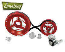 MST Raptor Red Tensioned Serpentine Pulley Kit System VW T1 Engine Beetle T2