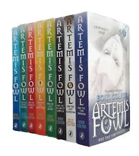 Artemis Fowl 8 Book Set Eoin Colfer Shrink Wrapped Collection Children Kids New