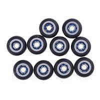 10pcs Miniature Metal Pulley Wheels Roller 695ZZ 5x23x7.5mm Ball BearingsSN