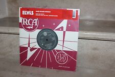 elvis the king hard headed woman 45RPM (england) limited edition