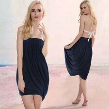 Bandeau Patternless Short/Mini Sundresses for Women