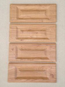 KITCHEN CABINET UNIT OAK SHAKER  4 Drawer pack 400mm Wide (4x 175mm High Draw)
