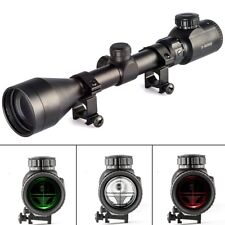 3-9X50 E Rifle Scope Mil-dot Illuminated Red & Green Hunting Optical Scope