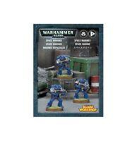 Easy to Build Space Marines (3 Models) Warhammer 40K NIB Flipside
