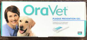 Oravet Plaque Prevention Gel, 8 Pack Oral Hygiene Care For Dogs