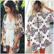 Kimono mousseline aztèque