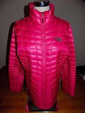 NWT The North Face Women's Thermoball Jacket Packable CERISE PINK  $199  XL