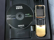UNLOCKED NEW NOKIA 8800 CLASSIC GOLD EDITION RM-13 MADE IN GERMANY MOBILE PHONE
