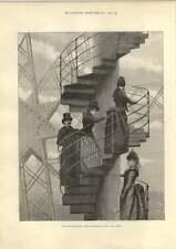 1889 Julius Price Sunday Reception Eiffel Tower Rev William Barnes Dorchester