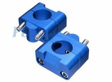 "11/8"" to 7/8"" Universal Bar Clamps Taper handlebar QUAD ATV BIKE NEW BLUE H CL11"