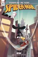 Marvel Action Spider-Man #1 1:10 Baldari Variant
