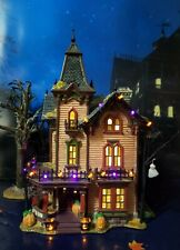 New ListingDept 56 Snow Village Halloween Halloween Victorian House! The Best! Perfect!