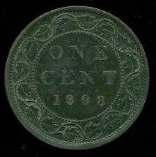 1898H Canada Large Cent, Queen Victoria   PP136