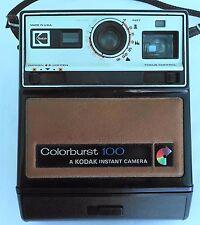 KODAK COLORBURST 100 VINTAGE  INSTANT CAMERA KODAK. AND ORIGINAL FILM cartridge