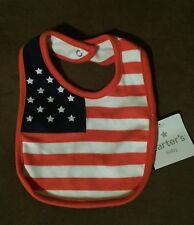 Patriotic Baby Bib 4th of July Usa Flag