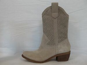 BCBGeneration BCBG Size 6 M Bastille Taupe Leather Boots New Womens Shoes NWOB