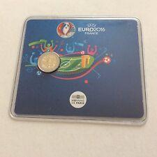 Blister 2€ France UEFA EURO 2016 Tirage Limite a 10 000 Exemplaires