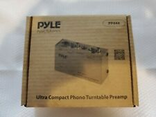 Preamp Pyle Phono Turntable Electronic Audio Stereo Phonograph Pro Mini E5