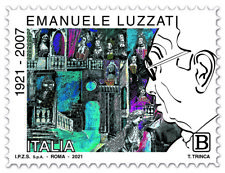 2021 ITALIA  Emanuele Luzzati  FRANCOBOLLO SINGOLO