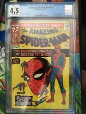 Amazing Spiderman Annual #2 CGC 4.5 Dr. Strange