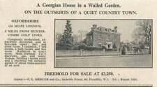 1936 Georgian House In Walled Garden, Huntercombe 5 Miles, £3250