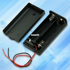BLACK 2 AA BATTERY CASE BOX WITH ON OFF SWITCH EE4069 4991452