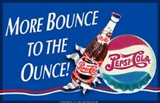 Pepsi Cola More Bounce To The Ounce TIN SIGN Metal Poster Wall Decor Ad