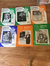 LOT - 6 Genii Magazines Magic/Magician  And 2 Hocus Pocus Magazines