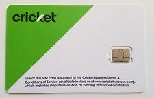 Cricket Sim card •At&T Att iPhone 5 5c 5s 6 6 Plus 6s 6s Plus Se 7/8 7/8 Plus X