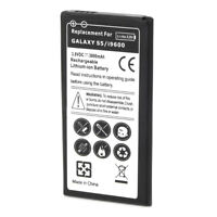 Replacement 3800mAh Li-ion Battery for Samsung Galaxy S5 i9600 Phone