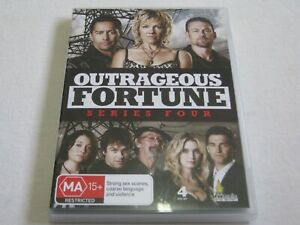 Outrageous Fortune - Series 4 - 4 Disc Set - Region 4 - VGC - DVD
