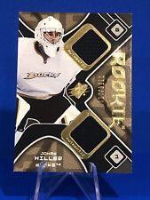 2007-08 SPx Jonas Hiller Rookie Card Jersey BV $15 Anaheim Ducks Goalie