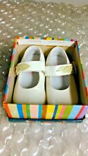 STRIDE RITE BABY ISABELLE 6M TODDLER SHOES WHITE/GREEN/PINK 3021664