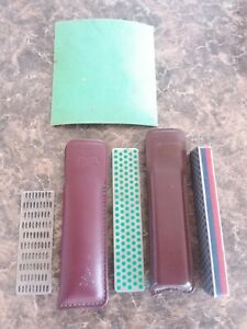 DMT Diamond Pocket Stone Knife Sharpening Tool  Lot