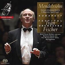 Mendelssohn: A Midsummer Night's Dream - Overture & Incidental Music  (NEW SACD)