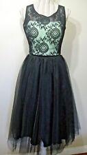 Teeze Me Juniors Two-Piece Sleeveless Lace Crop Top Long Skirt SIZE: 11 $ 99.00
