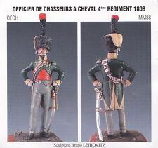 METAL MODELES OFCH MM88 - OFFICIER DE CHASSEURS A CHEVAL 4eme REGIMENT 1809