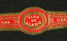 328AM-VITOLA Antigua-Old Cigar Band-Marca FINA FLOR FLOR DE LLADO