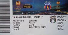 TICKET UEFA EL 2012/13 Steaua Bukarest - Molde FK