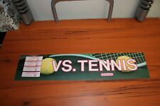 Nintendo Vs.Tennis Marquee  (SEE PHOTOS)