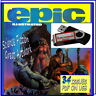 EPIC ILLUSTRATED - VINTAGE COMICS - 34 ISSUES-PDF ON USB-SCIENCE FICTION, HORROR