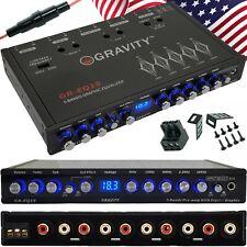 Gravity Eq15 1/2 Din 5 Band Car Audio Equalizer Eq Front, Rear + Sub Output 9V