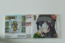 Radirgy-Sega Dreamcast-Tiratore-RARA-CARTA DELLA COLONNA VERTEBRALE