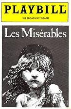 """Daisy Eagan (Debut) """"LES MISERABLES"""" Tony Award Winner 1989 Playbill / Ticket"""
