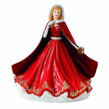 Royal Doulton Festive Memories Christmas Figurine of Year 2016 NEW IN THE BOX