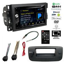 Double DIN Bluetooth Stereo+Backup Camera+Chevy Silverado/Sierra Radio Dash Kit