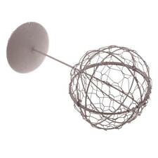 Iron Frame Wire Ball Shape Succulent Pot Plant Holder Craft DIY 28cm Iron