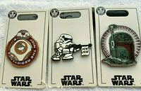 Disney STAR WARS Galaxy's Edge PINS get 3 Rise of Resistance BB-8 Stormtrooper